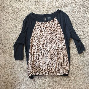 Ann Taylor Loft 3/4 sleeve blouse